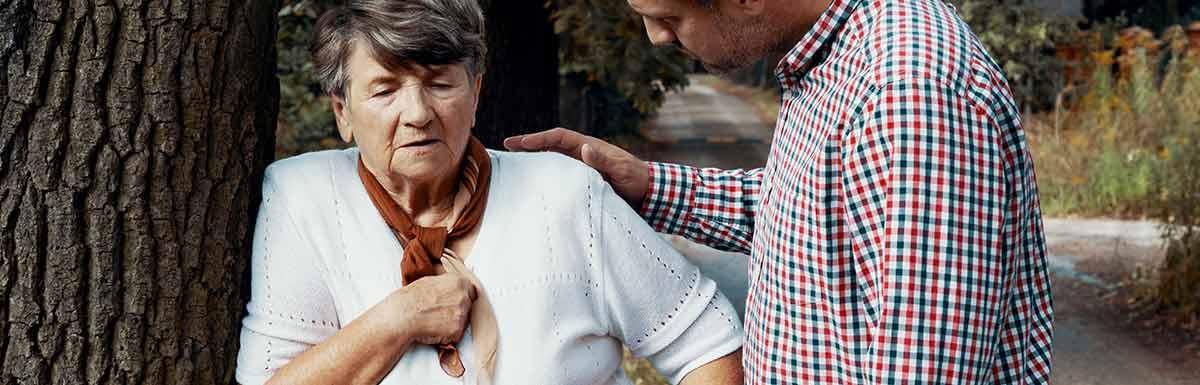 Die sogenannte Kussmaul-Atmung kann bei Diabetes auf eine lebensgefährliche Ketoazidose hinweisen.