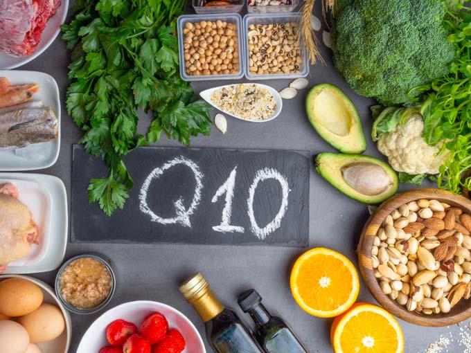 Lebensmittel mit Mikronährstoff Coenzym Q10