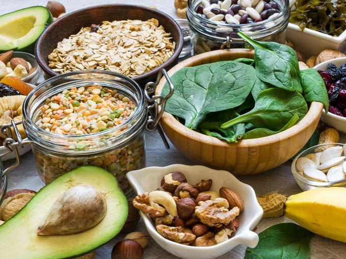 Lebensmittel mit einem hohem Magnesiumanteil