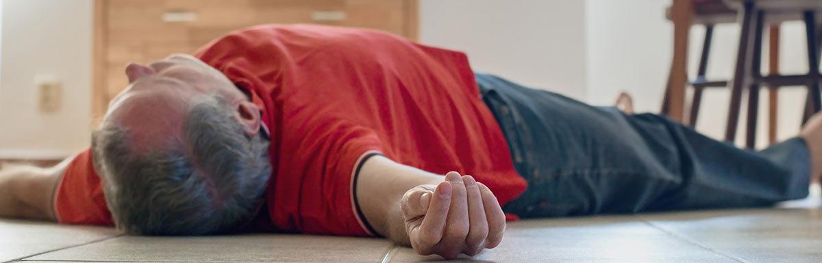 Beim diabetischen Koma verliert der Betroffene das Bewusstsein