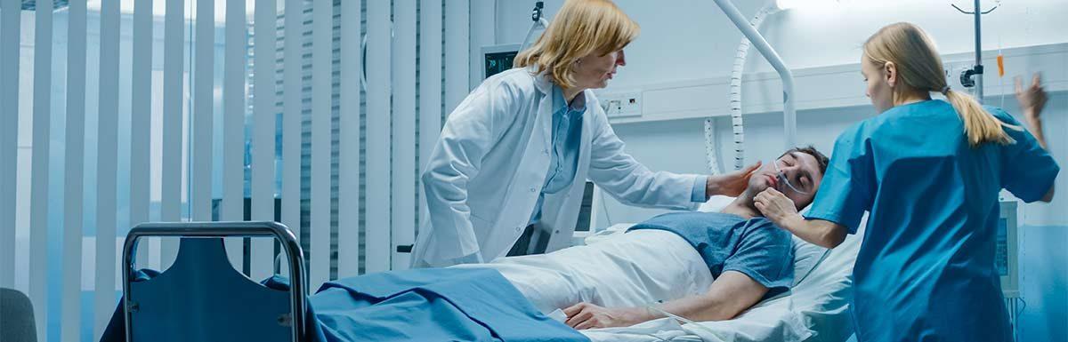 Das hyperosmolare Koma ist eine lebensbedrohliche Stoffwechselentgleisung als mögliche Folge von Diabetes Typ 2.