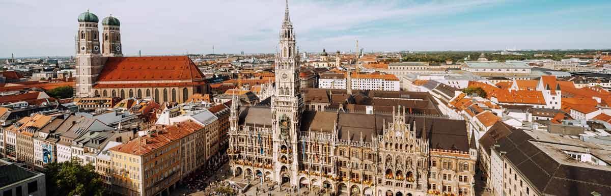 Münchener Innenstadt - Die gesündeste Landeshauptstadt Deutschlands